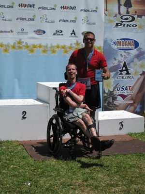 bret and ed 1st place male special needs